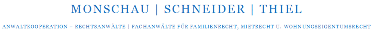 Anwaltkooperation Monschau - Schneider - Thiel
