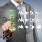 Mehr Service - Mehr Leistung - Mehr Qualität