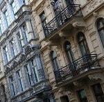Häuserfassade Großstadt