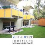Gepflegte 3-Zimmer-Eigentumswohnung mit 110 m² eigenem Garten!