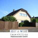 Lechenich! Freistehendes Studiohaus mit Wintergarten, Kaminofen und großem Sonnengarten!