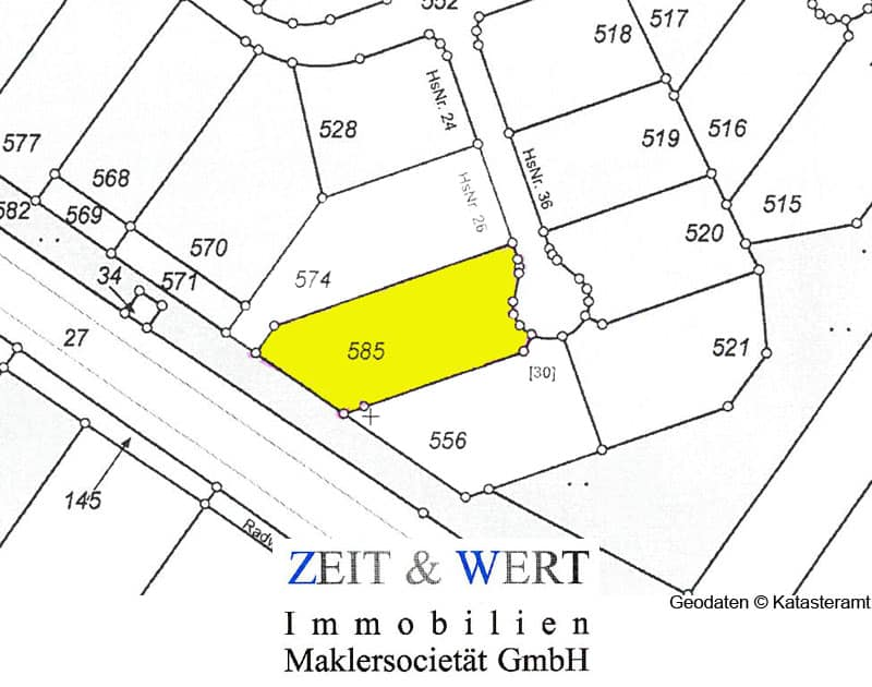 Baugrundstück in Gymnich