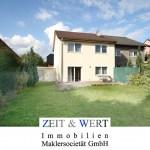 Köln-Meschenich! Helles, neuwertiges Einfamilienhaus mit Satteldach, Garage und üppigem Südgarten!