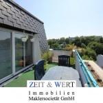 Weitblick! Sonnenhell – schick – modern! 4-Zimmer-Penthouse mit 2 Sonnenterrassen!