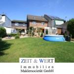 Weilerswist! Zweifamilienhaus mit wunderschönem Sonnengarten in Ruhiglage! Stellplätze!