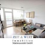 Liblar! Kompakte 2-Zimmerwohnung mit großer Westloggia in Ruhigwohnlage!