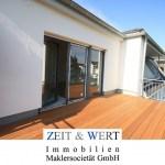 Erftstadt-Lechenich! ERSTBEZUG! Lichtdurchflutete Dachgeschosswohnung mit großer Dachterrasse und Sonnenbalkon!