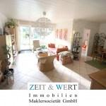 Erftstadt-Liblar! 125 m²-Gartenwohnung mit eigenem Sonnengarten, Garage + Stellplatz!