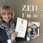 ZEIT & WERT Immobilien erneut als einer von 1.000 TOPP Maklern in Deutschland ausgezeichnet